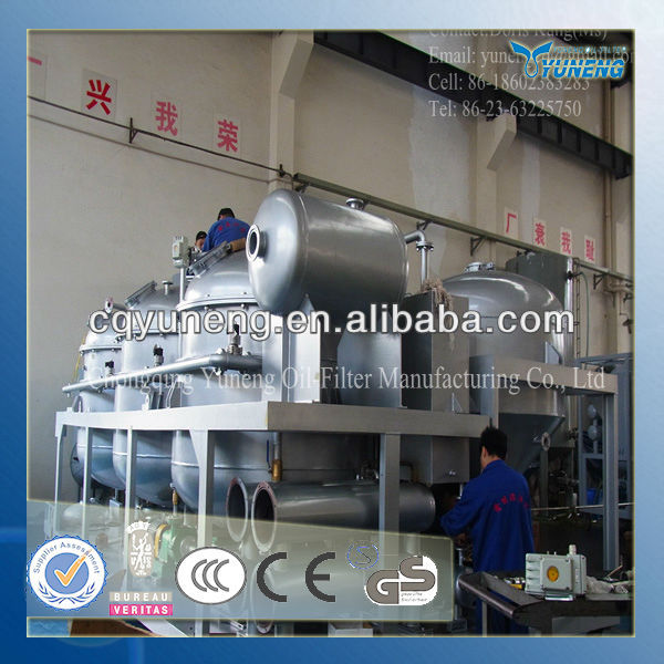 Reprocessing Used Engine Oil Purification Unit