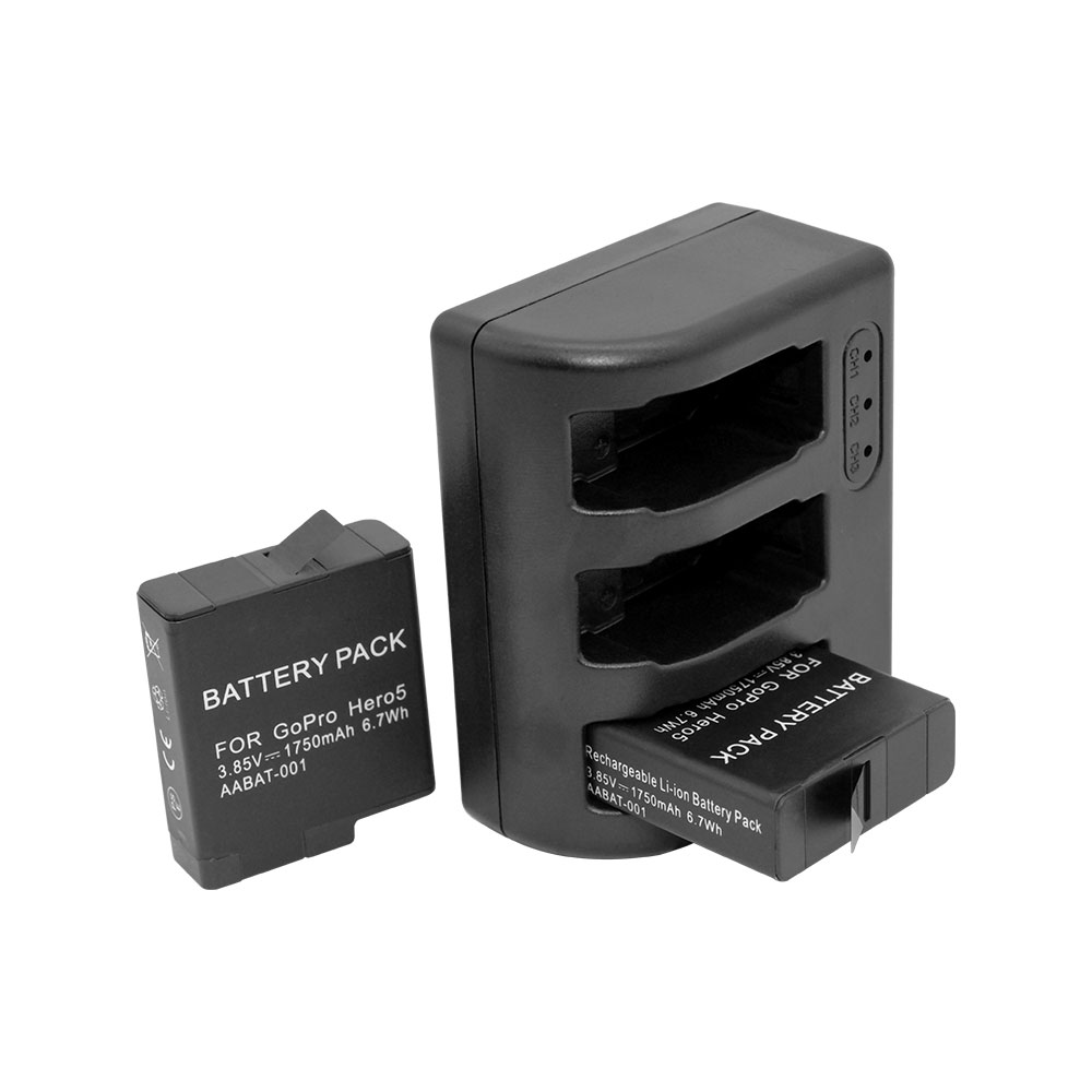 2 x Battery for GoPro AABAT-001-1220mAhGoPro HERO5