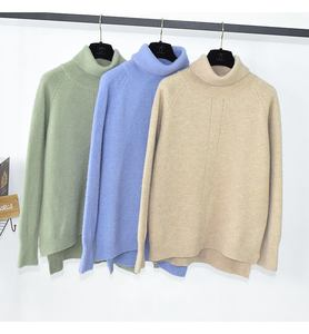 Roll high neck long sleeves women sweater winter knitwear knitting thick warm pullover top ladies jumpers quality