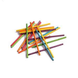 Bulk Round Craft Wooden Sticks For Kids Building Toys