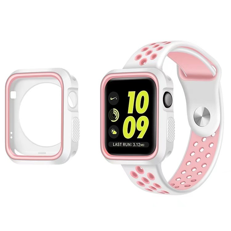 2018 New Arrival Smart Watch Band for iWatch With Watch Case Strap Replaceable Silicone Watchband for Apple