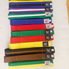 Martial Arts 4cm 4.5cm 5cmCotton Polyester Professional TKD Belts