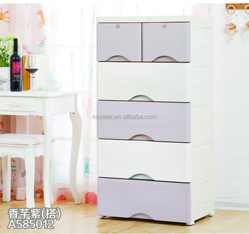 Elegant Plastic Storage Cabinet Multipurpose Plastic Drawer. View Larger  Image