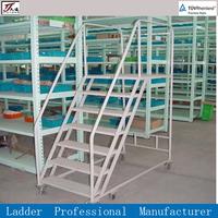 Climb ladder for storage