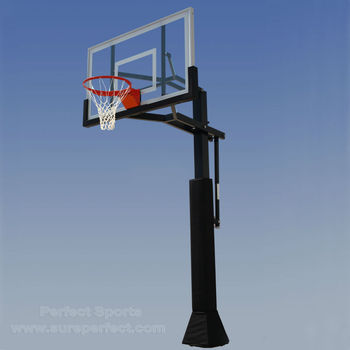 In-Ground Adjustable Basketball Stand