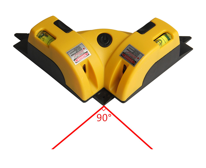 Nivel Laser Levels 90 Degree Leveler Construction Marker Tools Lines Class II Lazer Beam Horizontal Vertical Bubble Vial