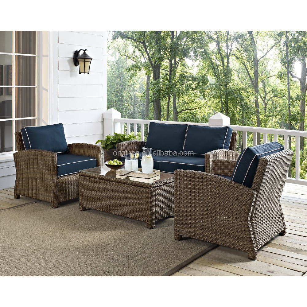 French Bistro Traditional Style Rattan