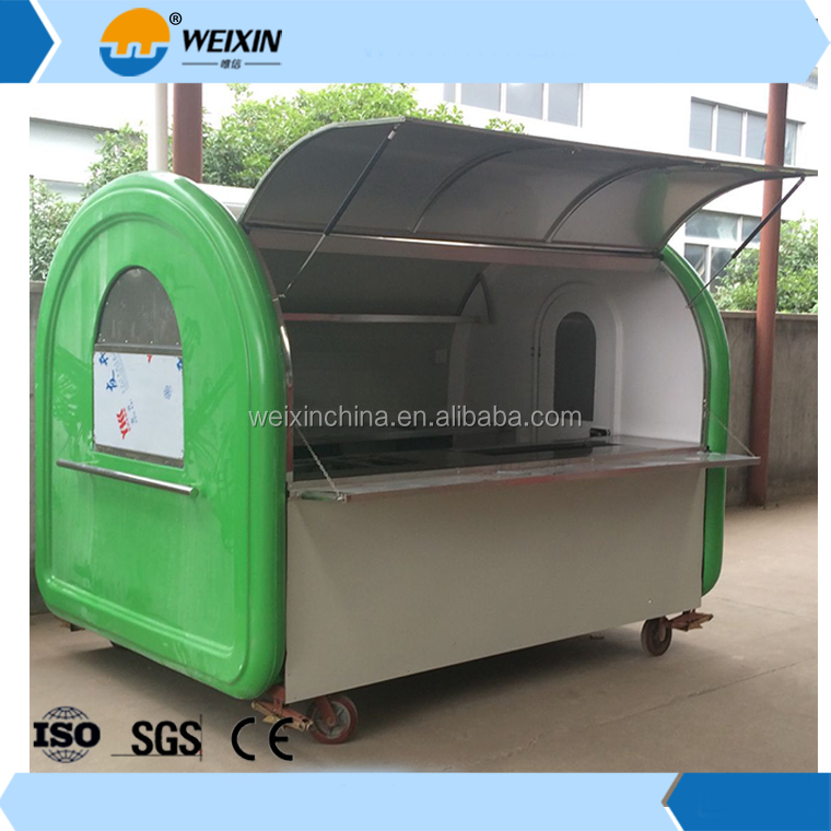 Pro-Environment Baker Car Mobile Food Cart For Sale