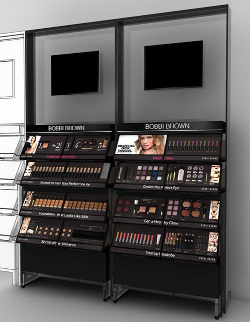 Top Quality Shopping Mall Cosmetics Kiosk Makeup Skin Care