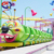Cheap fun fair roller coaster rides used for adult rides train set