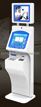 21.5 inch Dual Touch screen self service visitor management/ bank <strong>payment</strong> kiosk