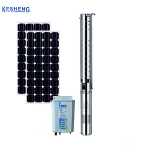 Solar Fuel Pump Stainless Steel Submersible Deep Well borehole Pump