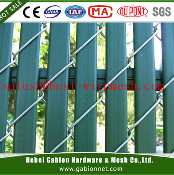 Green Privacy Fence Slats For 6 Chain Link Pvc Fence