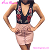 2017 Wholesale Pink Package Hip Micro Sexy Mini Ladies Short Skirt Designs