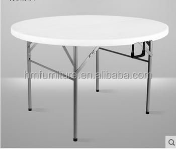 Ronde En Plastique Table Top Pliable Ronde 160 Cm En Plastique Table ...