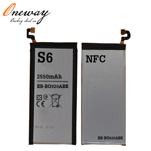 mobile phone battery for samsung s6 battery NFC