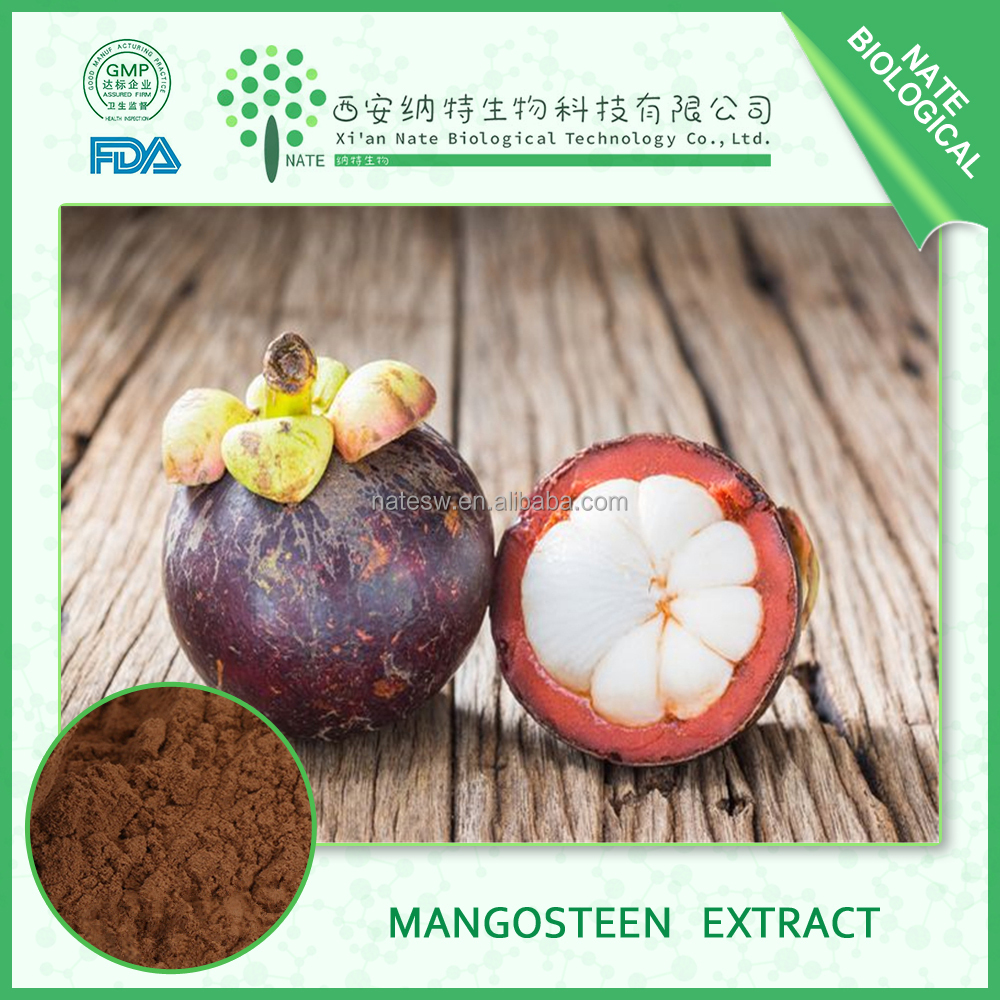 china mangosteen extract wholesaler Mangosteen Fruit Extract Powder 50%