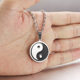 Yin Yang Tai Chi Pendant Necklace Jewelry Necklaces Best Friends Black White Paired Necklace