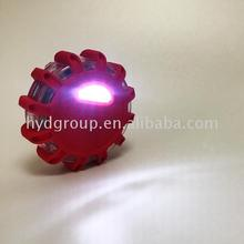 Flashing road beacon with magnetic base for car marine flashing light stick flashing beacon