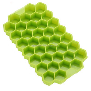 Honeycomb Silicone Ice Cube Tray Ice Lolly Cream Maker Form DIY