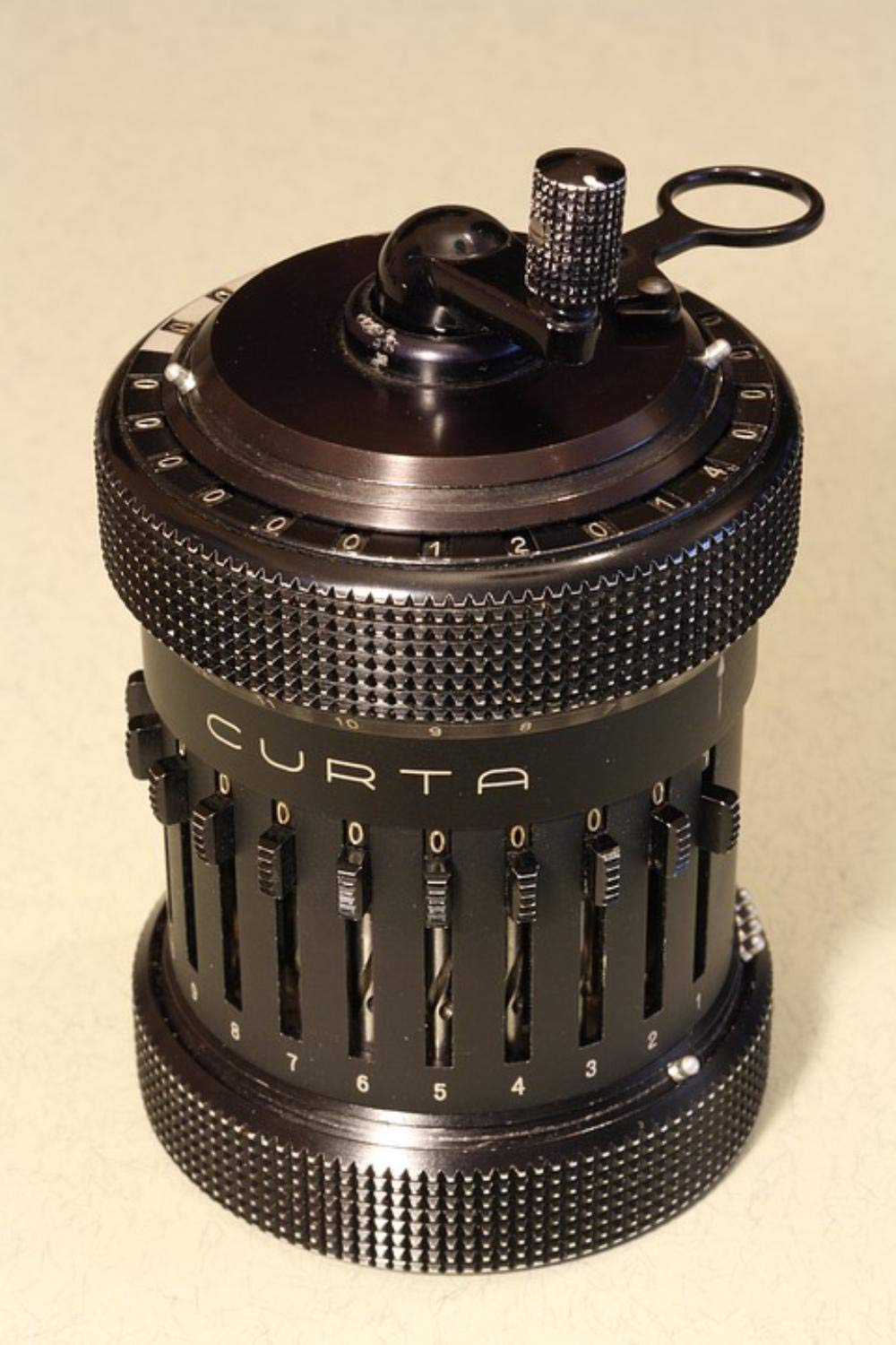 Gifts Delight LAMINATED 24x36 inches Poster: Curta Mechanical Calculator Type Ii Accurate Handheld Liechtenstein Herzstark