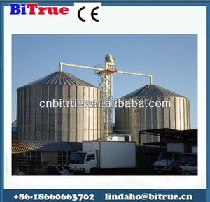 Steel grain storage silo price , small grain silo for sale , silo cost