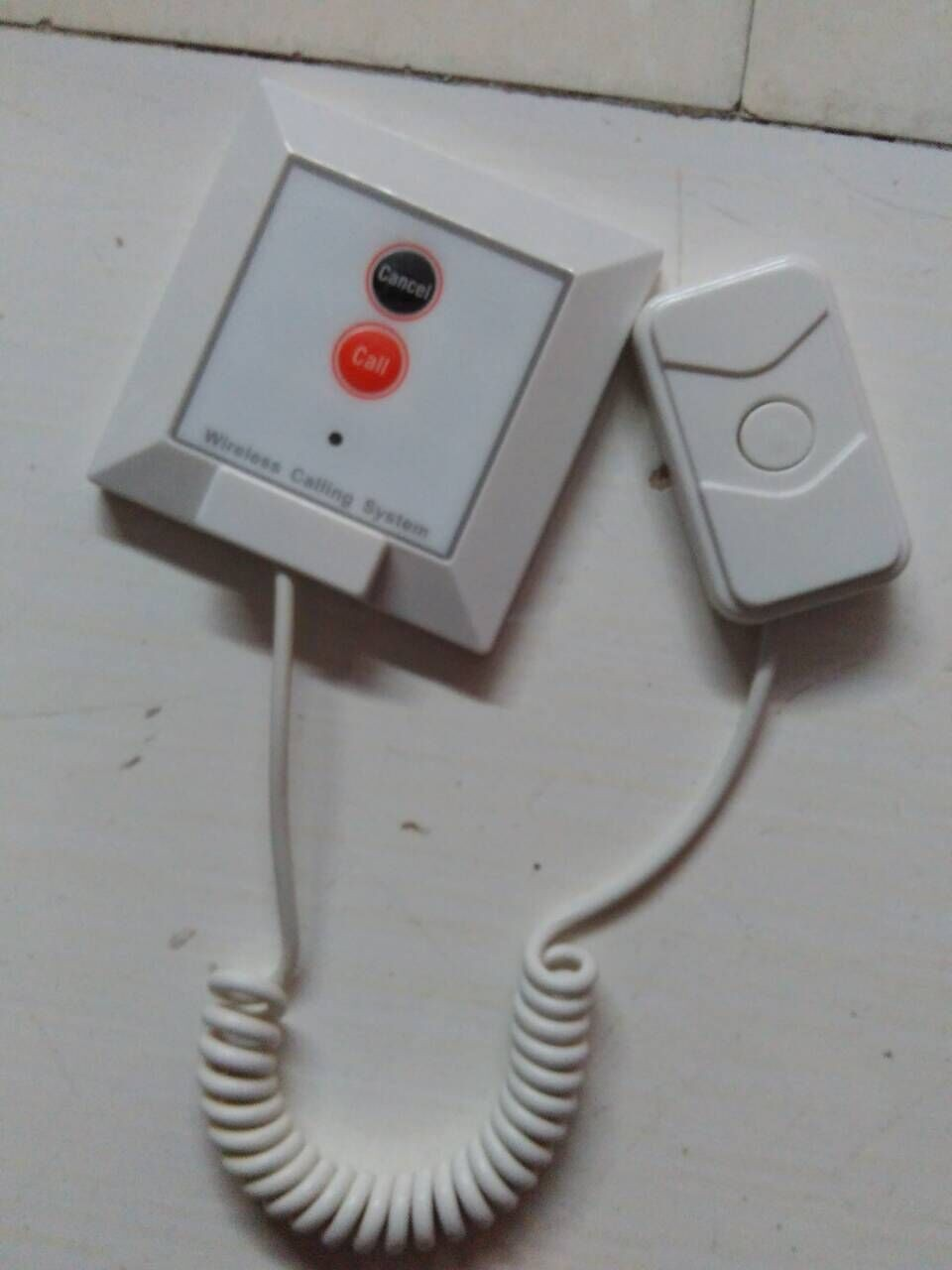 Safe Delivery Patient Nurse Call System YCALL Brand CE Call Bell System For Care Home Hotspital Wireless Call System