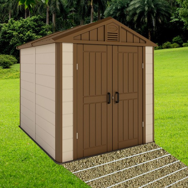 Kinying Brand Factory Direct Sale Small House Plans Designs High Quality Plastic  Storage Garden House