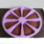 Microwave Oven Baking Pastry Bakeware 8 Cavity Silicone Cake Mould