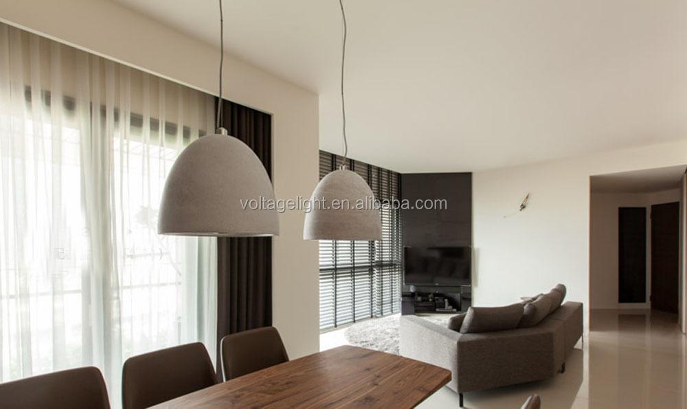 new products industrial de hormign colgante de iluminacin con bombillas led indoor lmpara colgante decorativo