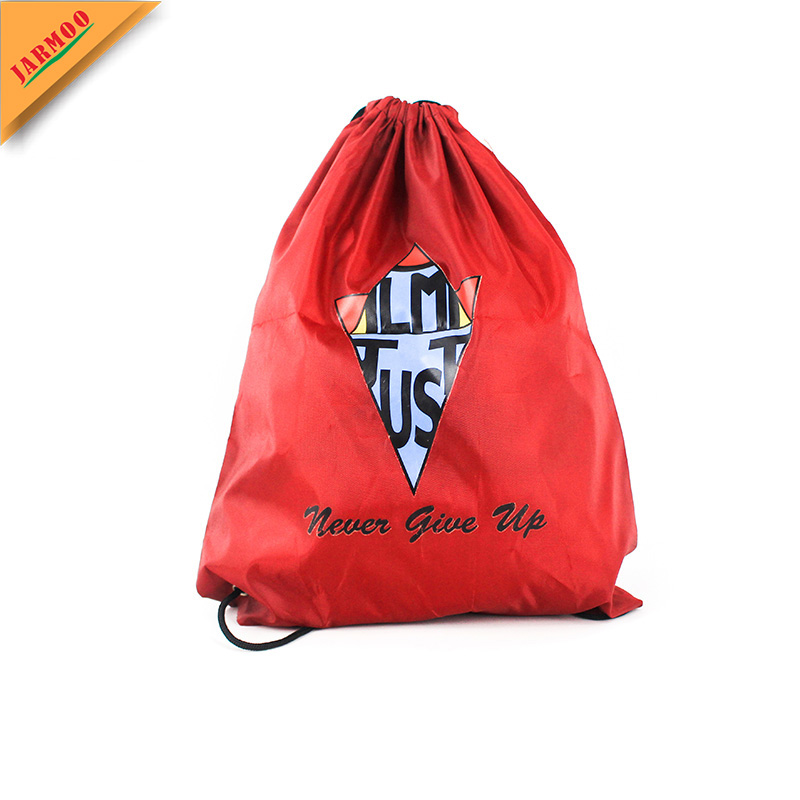 Factory Promotion Custom Waterproof Polyester Drawstring Bag
