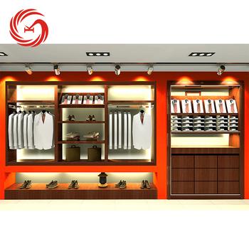 Modern Garment Display Ideas Men\'s Clothing Shop Interior Design ...