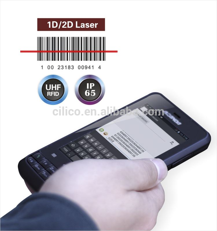 mobile phone PDA scaner barcode android rugged smart phone mobile phone from cilico