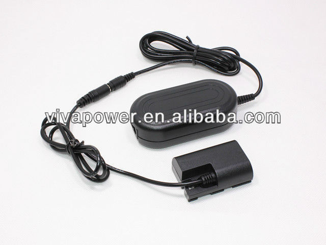 Compact AC Adapter Kit ACK-E6 for Canon LP-E6 EOS 60D 5DIII 5D MKII 7D