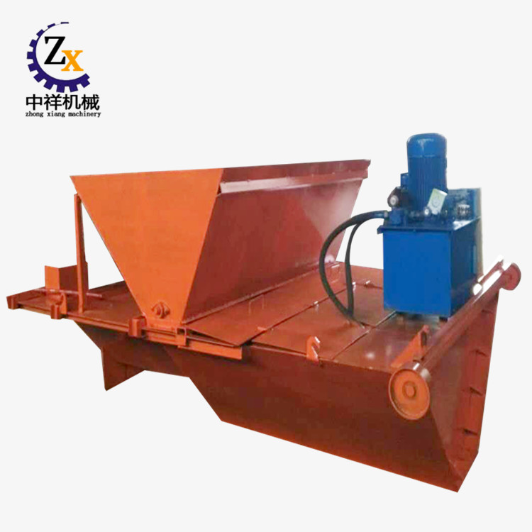Concrete U channel leach forming machine for water irrigation