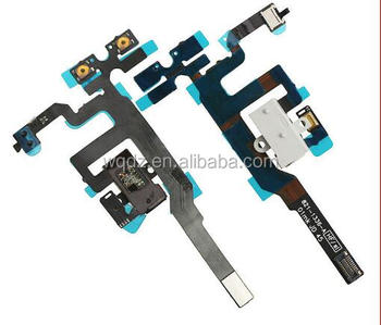 for iPhone 4S Volume Flex Cable High Quality