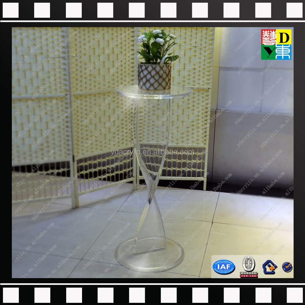 simple style high transperant acrylic home deco PMMA lucite acrylic wedding decoration from China