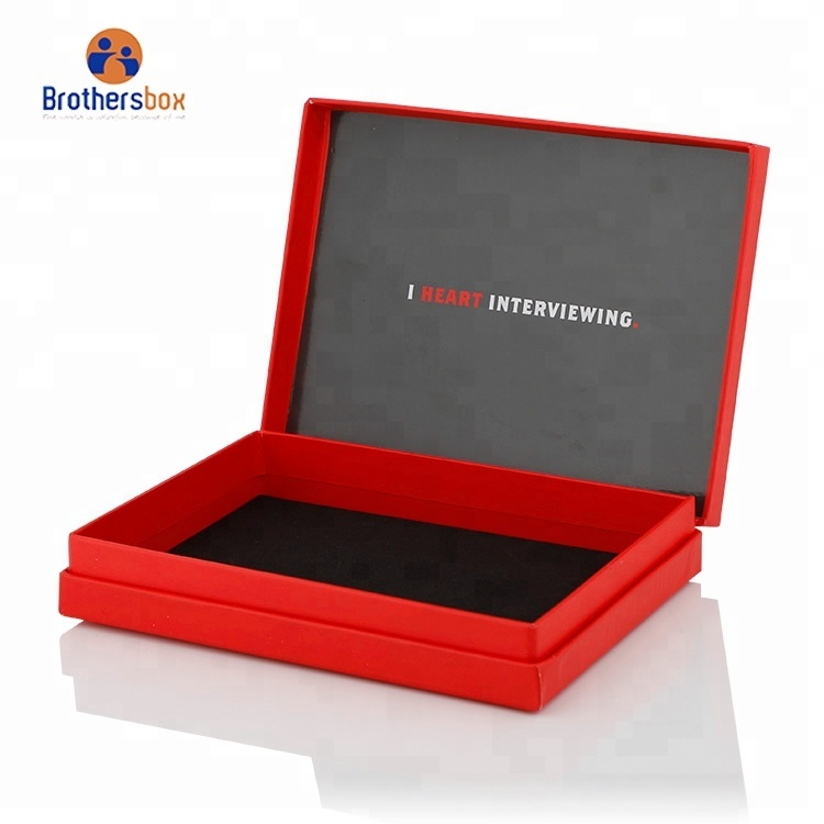High Quality Luxury red magnetic gift box Custom Printed dates packaging boxes