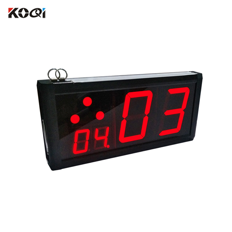 Alibaba.com / 433.92mhz Ycall Red Color 2-digis Wireless Calling Receiver Number LCD Display for Restaurant Hotel Cafe Shop