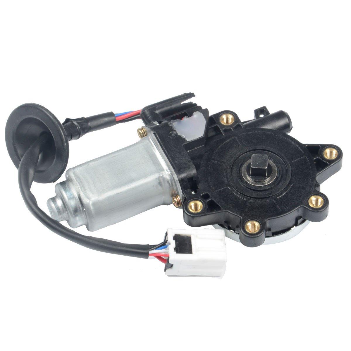 A-Premium Anti-Clip Function Window Regulator Motor for Nissan 350Z 2003-2009 Infiniti G35 2003-2007 Front Right Passenger Side
