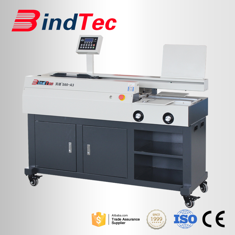 Bd-s60-a3 Factory Price Automatic Book Binding Machine/hot