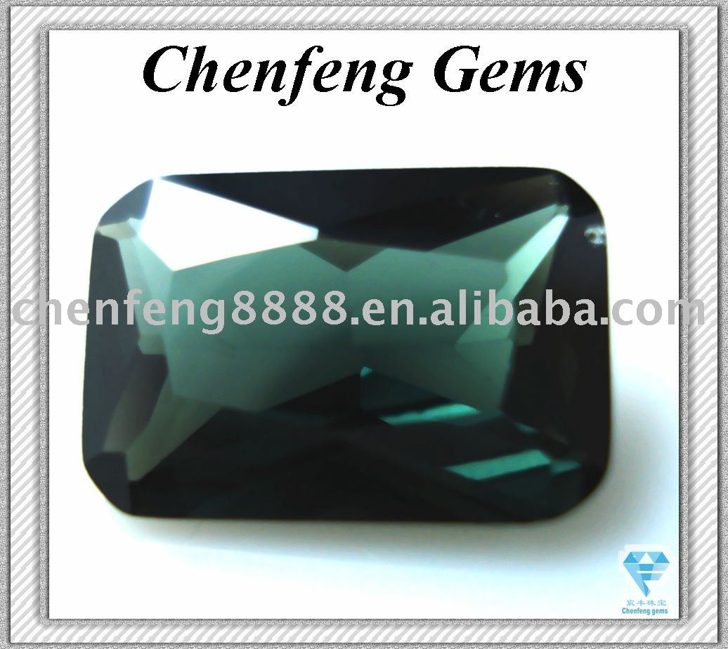 Aaa High Quality Synthetic Green Spinel Gemstone - Buy Greem ...