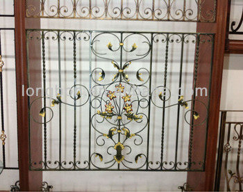 2015 Top Selling House Steel Window Grill Design