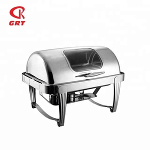 GRT-723BKS Visible Window Cheap Chafing Dish For Sale