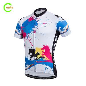 China Colorful Cycling Jerseys 979fb1781