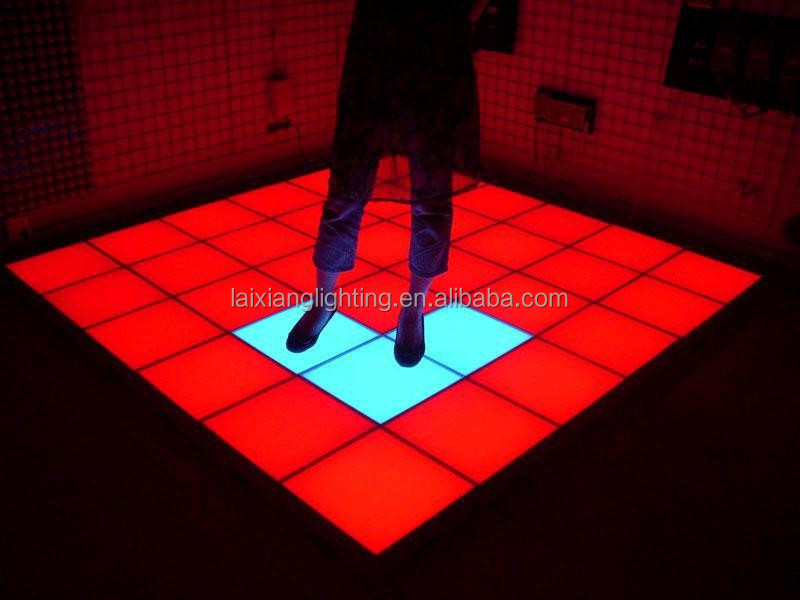 Color Changing Floor Tile Por In Disco Party Center Stage Flashing Light Up Tiles