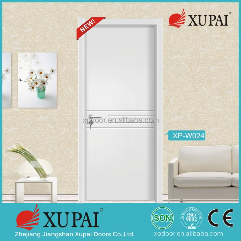 MDF flush solid wood door xupai manufacture making room interior doors