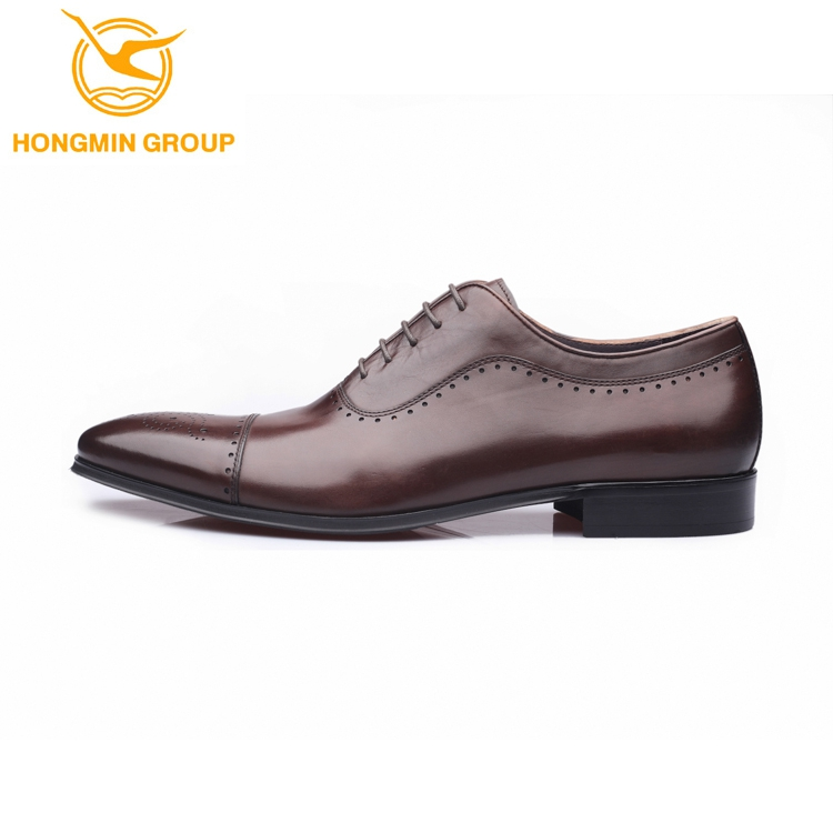 2018 leather shoes men shoes fashion genuine up luxury for lace men oxford Italian style vnTvg61qr