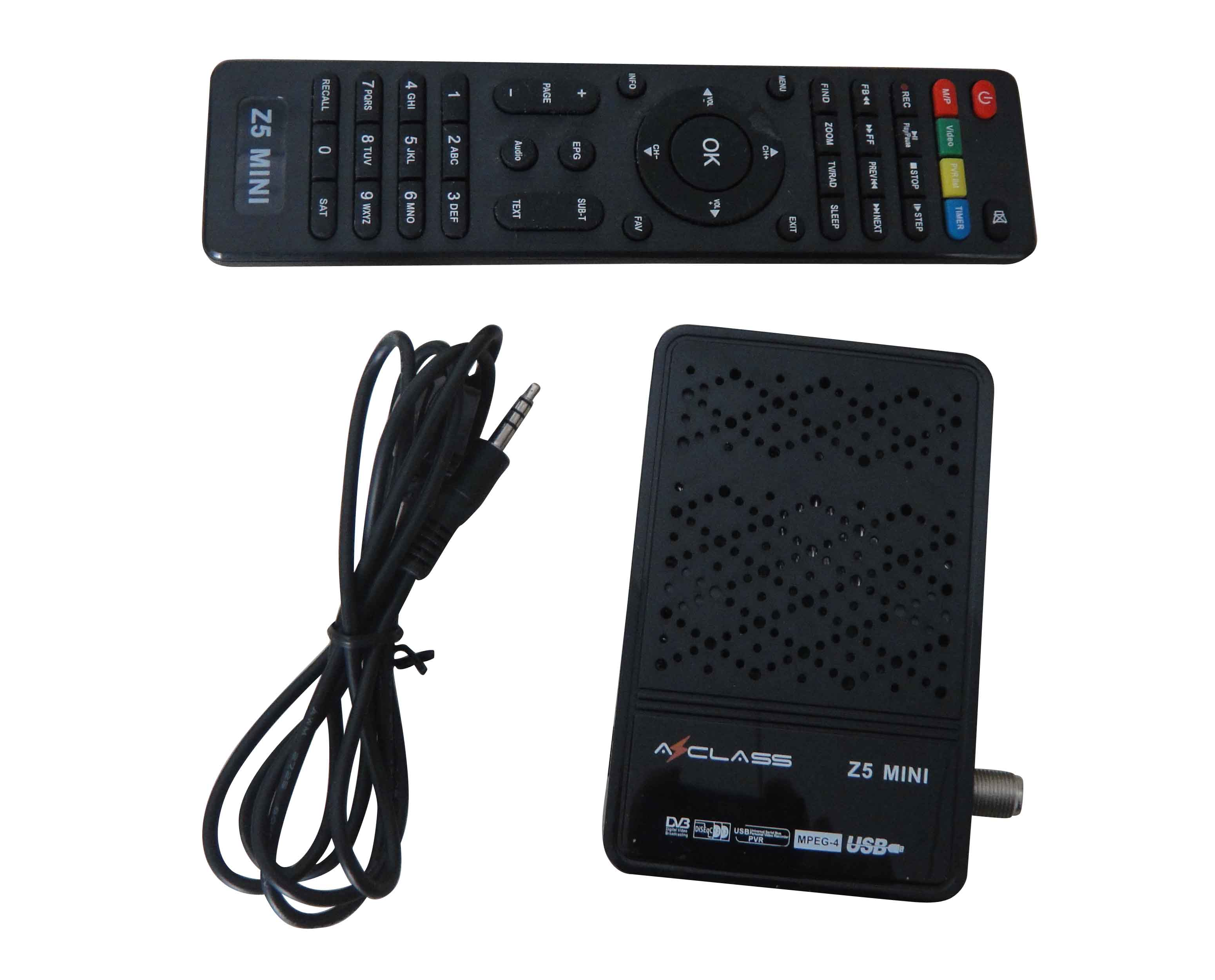 Strong Hd Receiver Mini Azclass Z5 Support Iptv+youtube+3g+wifi - Buy Full  Hd Mini Azclass Z5,Remote Control Direct Tv,Satellite Tv In Car Product on