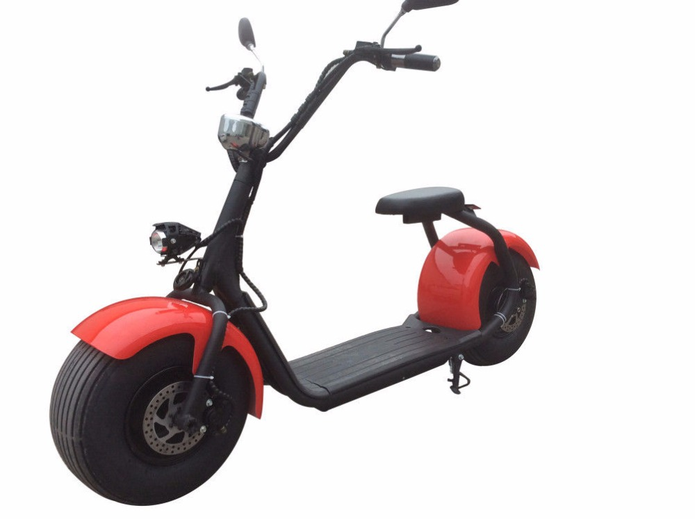 trade assurance factory price Citycoco 60v 1000w electric scooter moped